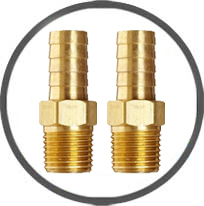 Hose Fittings Brass - Stainless Steel